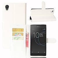 Чехол Sony Xperia L1 / G3311 / G3312 / G3313 книжка PU-Кожа белый