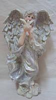 Статуэтка ангелочек с птицей