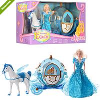 Карета 219A с лошадью и куклой