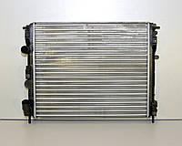 Радиатор охлаждения двигателя на Renault Kangoo 1.9dTi+1.9dCi+1.6 16V (-AC) 1997>2008, Renault - 7700428082