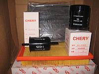 Комплект фильтров Chery Tiggo Чери Тигго масляный воздушный топливный салона