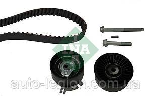 Комплект роликов + ремень ГРМ (89z) на Renault Master II 2.2+2.5dCi 00->2010 - INA (Германия) - 530 0198 10