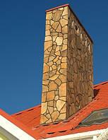 Камень песчаник облицовочный, сланец золотистый