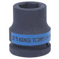 "Головка 3/4"" 21мм ударна KING TONY 653521M, фото 1"