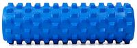 Ролик для йоги, пилатеса и фитнеса Pro Supra Square (голубой)