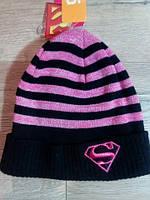 Яркая шапочка для девочки. Размер: 10-12/56см.