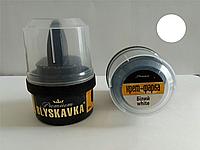 Крем для обуви Блыскавка Blyskavka белый 60 мл