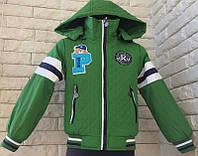 Детская куртка ветровка на мальчика 2,3,4,5,6 лет 92-116 см. Демисезонная.