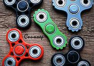 Популярная игрушка-вертушка спиннер (Finger spinner)