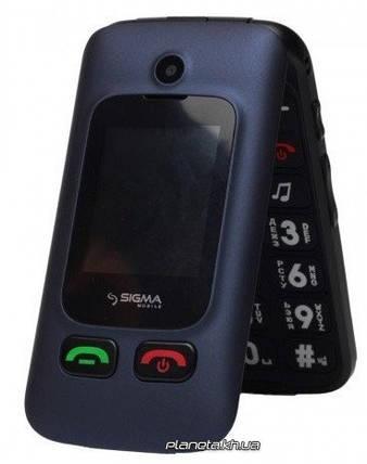Мобильный телефон Sigma Comfort 50 Shell Duo Blue , фото 2