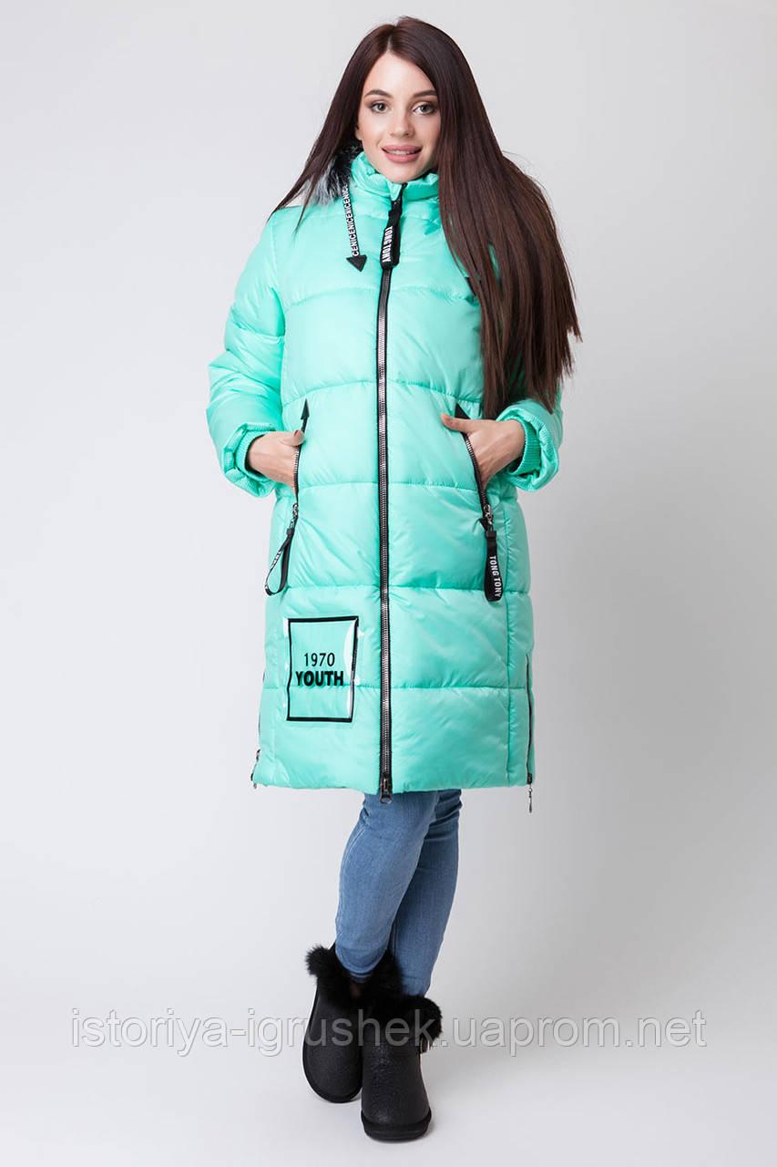 Пальто зимнее для девочки ZKD 3 в ассортименте