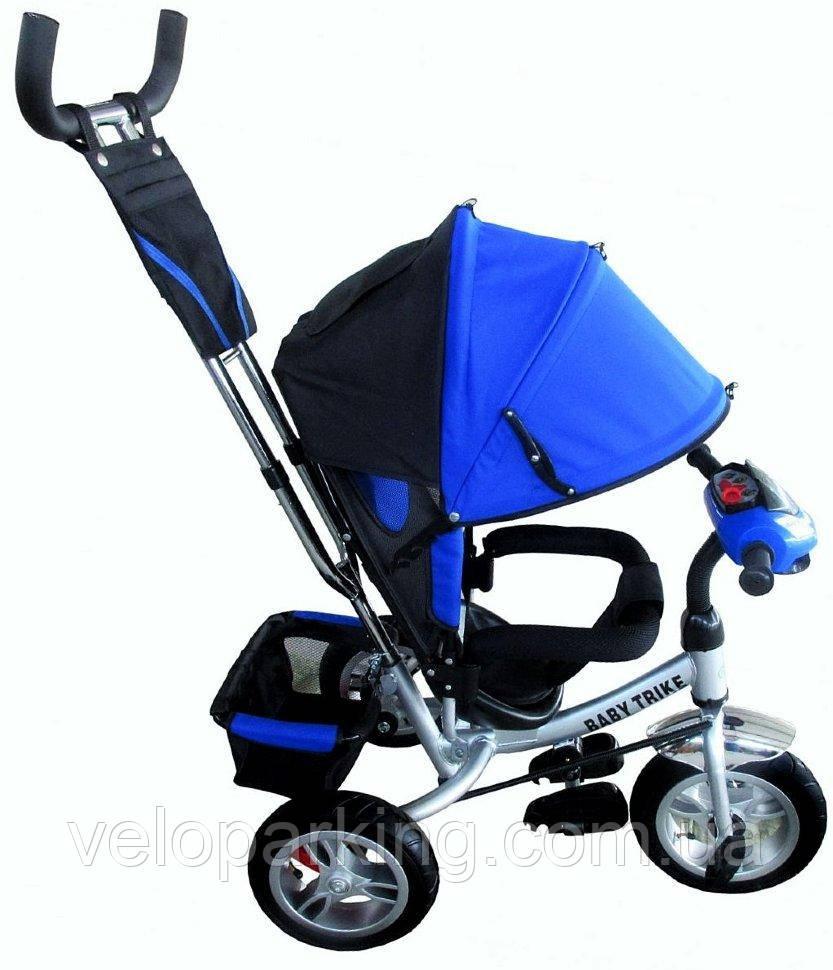 Трехколесный детский велосипед Baby Trike (2017) (надувные колеса & фара)