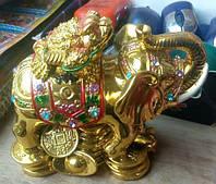 Статуэтка Слон-жаба, высота 13 см.