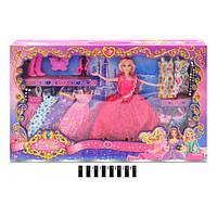 Кукла с одеждой и аксессуарами В309-3
