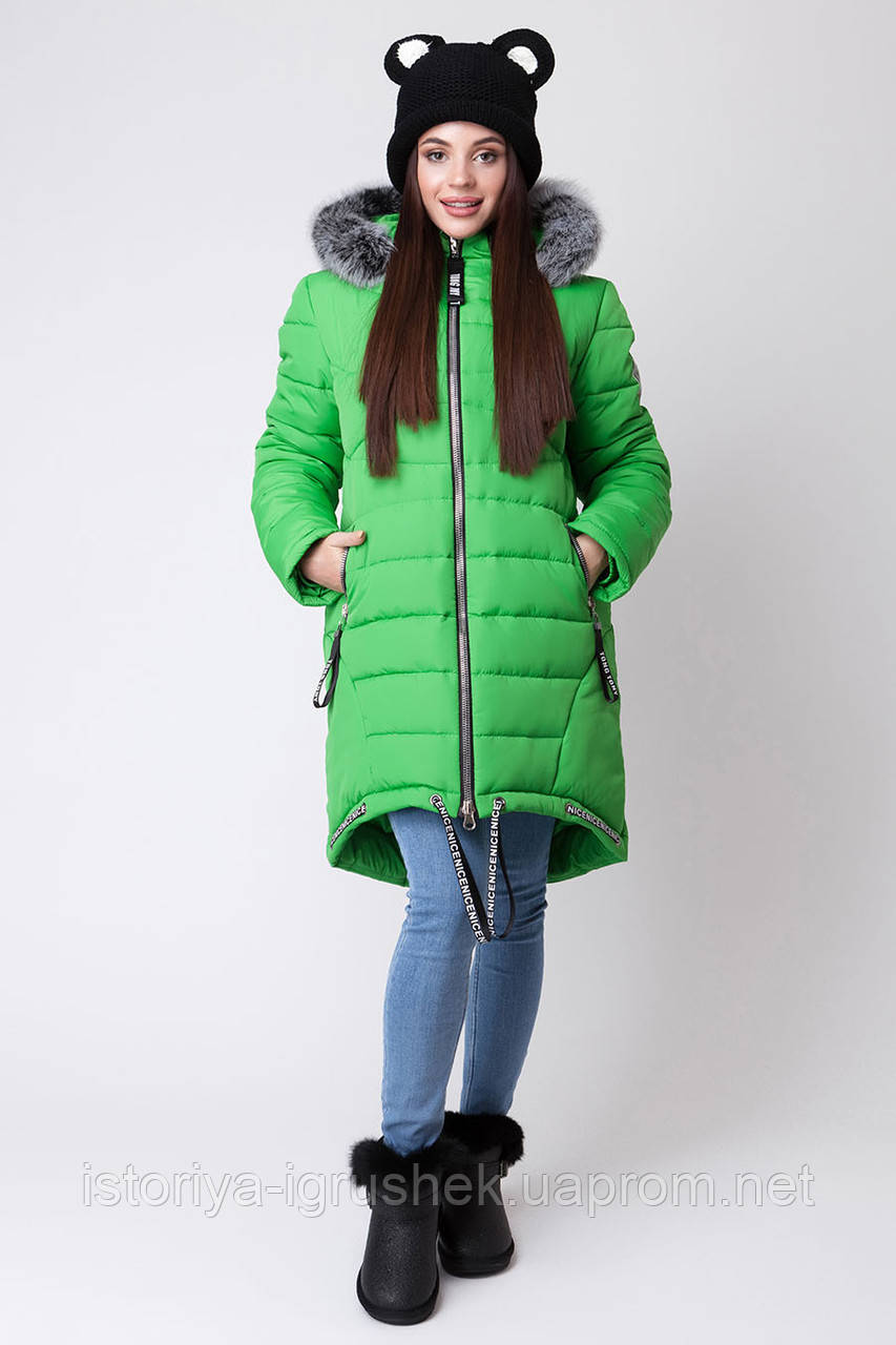Пальто зимнее для девочки ZKD 4 в ассортименте
