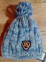 Детская вязаная шапочка OVS. Размер: 6-9/42-44см.