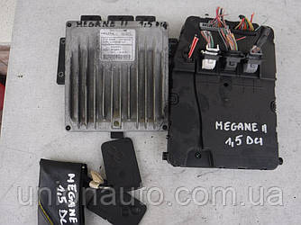 Блок управления двигателем комплект 1.5DCI Renault Megane II 2003-2009