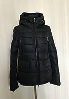 Стильная черная женская куртка