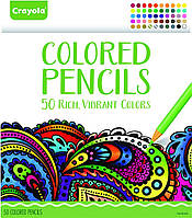 Набор карандашей Crayola Colored Pencils, 50 Count Set