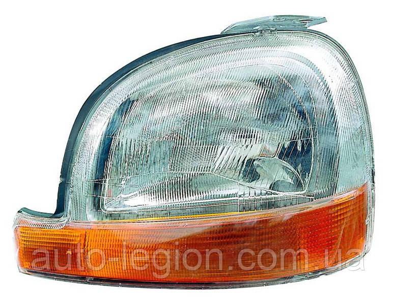 Фара главного света передняя L (левая) на Renault Kangoo 97->2003  — Depo (Тайвань) 551-1127L-LD-EM