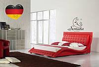 Кожаная кровать Соната Германия