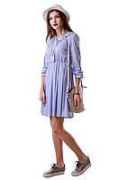 Стильное легкое женское платье