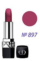 Christian Dior - Помада Матовая для губ - Rouge Dior Matte - №897 - Mysterious Matte