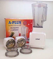 Блендер измельчитель кофемолка A-plus 3 насадки, фото 1