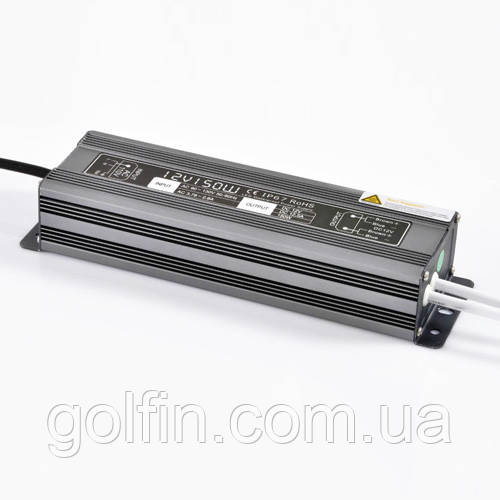 Блок питания герметичный 12V/150W SLIM