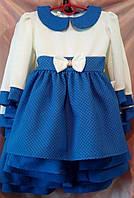 Детское платье для девочки Модница р.92-116