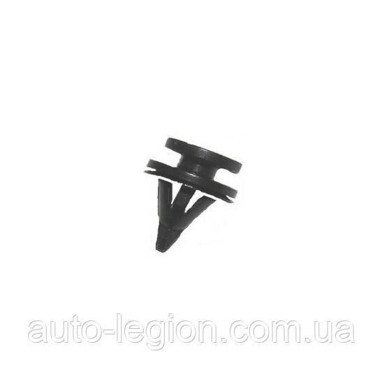 Клипса крепления обшивки (чёрная) на Renault Kangoo 1997->2008 Romix (Польша) ROM C30961