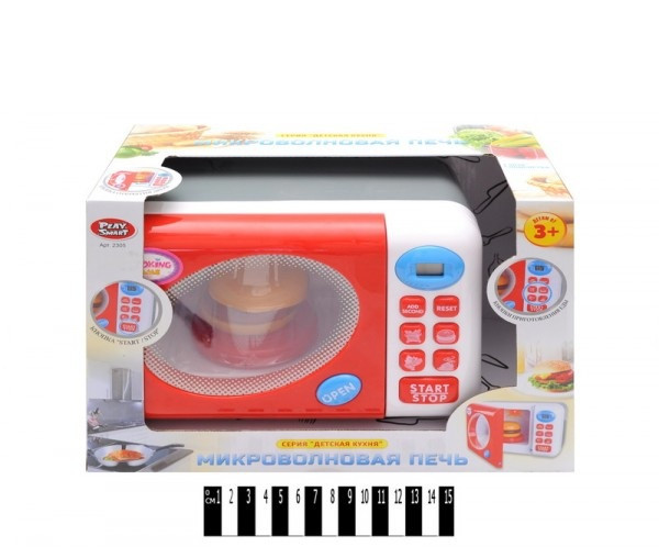 Микроволновая печь детская со звуковыми эффектами Play Smart 2305