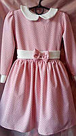 Детское платье для девочки Модница р.110-128