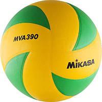 Мяч волейбольный Mikasa (MVA390CEV), фото 1