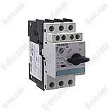 Автоматический выключатель защиты двигателя 3RV1021-4CA15 17-22A Siemens, фото 2