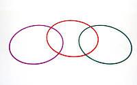 Обруч цельный гимнастический OG-70 (d-70см,вес 600г,d трубы 16мм,толщ.стенки-1мм)