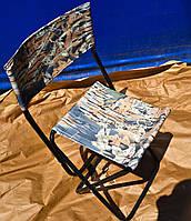 Стул туристический, раскладной для рыбалки и пикника, выдерживает 100 кг.