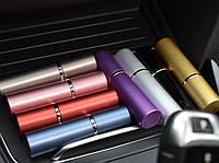 Газовый баллончик: форма духов или помады, перцовый аэрозоль, 24 г, радиус 2 м, 80х15 мм
