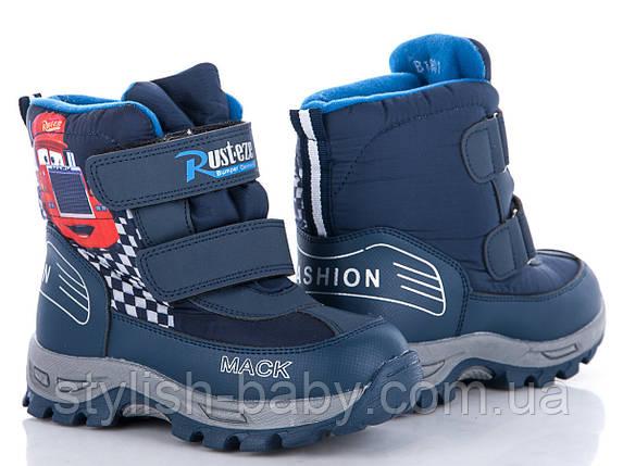 Новая коллекция зимней обуви оптом. Детская зимняя обувь бренда EeBb для мальчиков (рр. с 27 по 32), фото 2