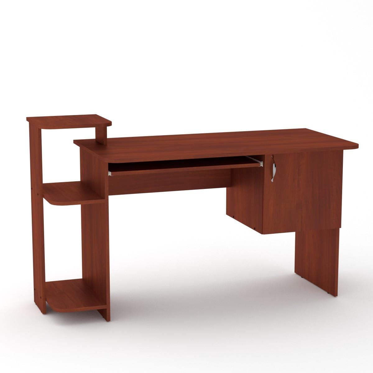 Стол компьютерный СКМ-3 яблоня Компанит (142х60х87 см)