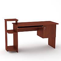 Стол компьютерный СКМ-3 яблоня Компанит (142х60х87 см), фото 1