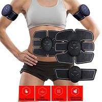 Стимулятор Smarty Abs, Magic Muscle Training Gear ABS EMS (весь комплект), фото 1