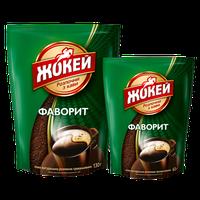 Кофе Жокей Фаворит растворимый 65г мягкая упаковка