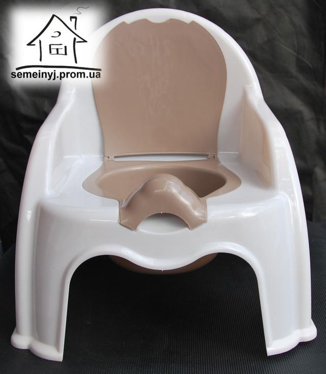 горшок-стульчик детский пластиковый