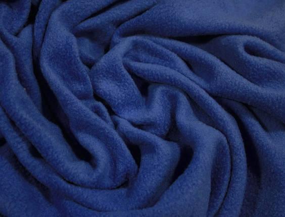 Ткань флис синий электрик, фото 2