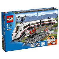 Конструктор LEGO City Скоростной пассажирский поезд  High Speed Passenger Train Set 60051
