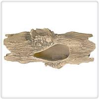 Декорация для аквариума Природа Бревно с сучками 24х12 см
