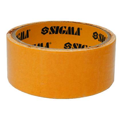 Скотч 2-хсторонний на полипропиленовой основе 38ммх10м Sigma 8401721, фото 2