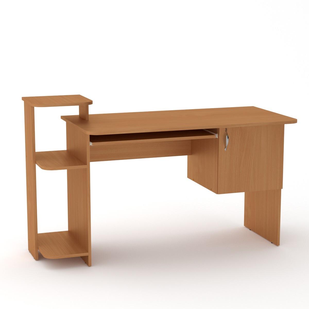 Стол компьютерный СКМ-3 бук Компанит (142х60х87 см)
