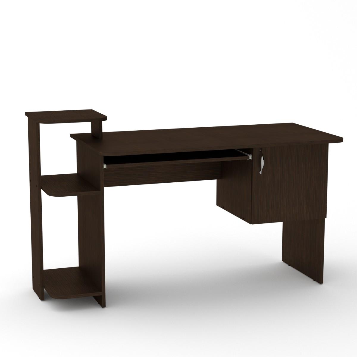 Стол компьютерный СКМ-3 венге темный Компанит (142х60х87 см)
